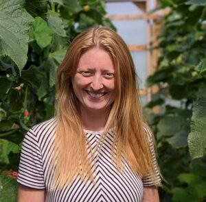 Kim Brooks, Managing Director at The Community Farm
