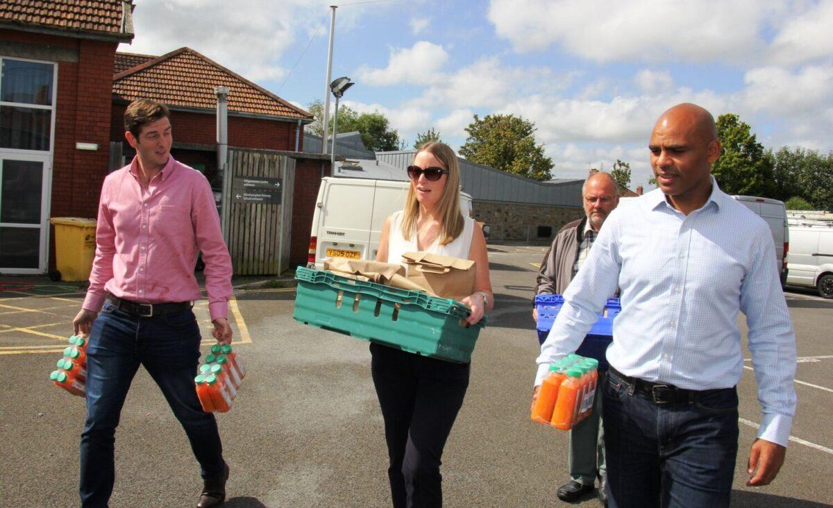 Feeding Bristol team