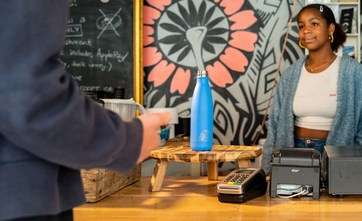Ordering contactless refill