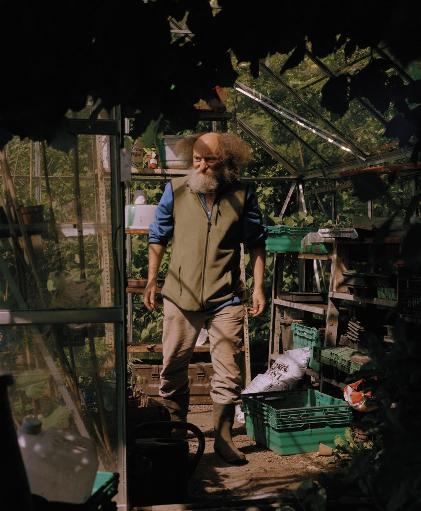 Permaculture enthusiast Mike Feingold © Chris Hoare / Bristol Photo Festival 2020