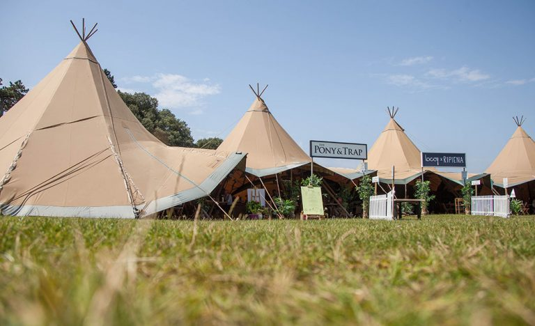 Breaking Bread pop-up tipi village