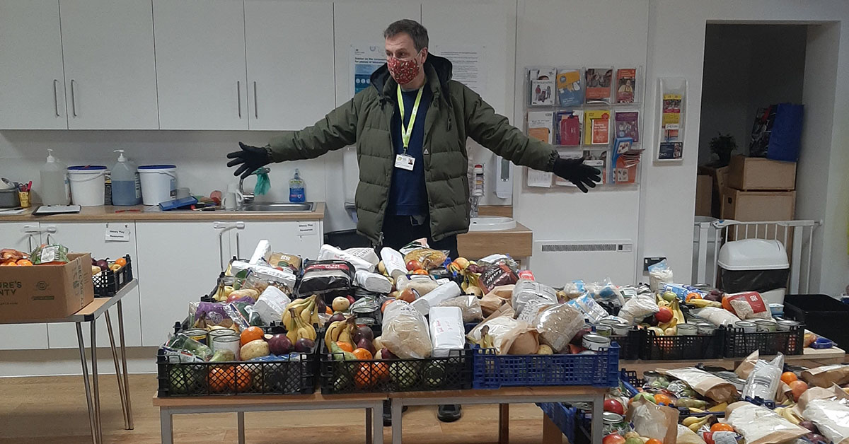Simon Green, FOOD Club Coordinator for Bristol and the South West