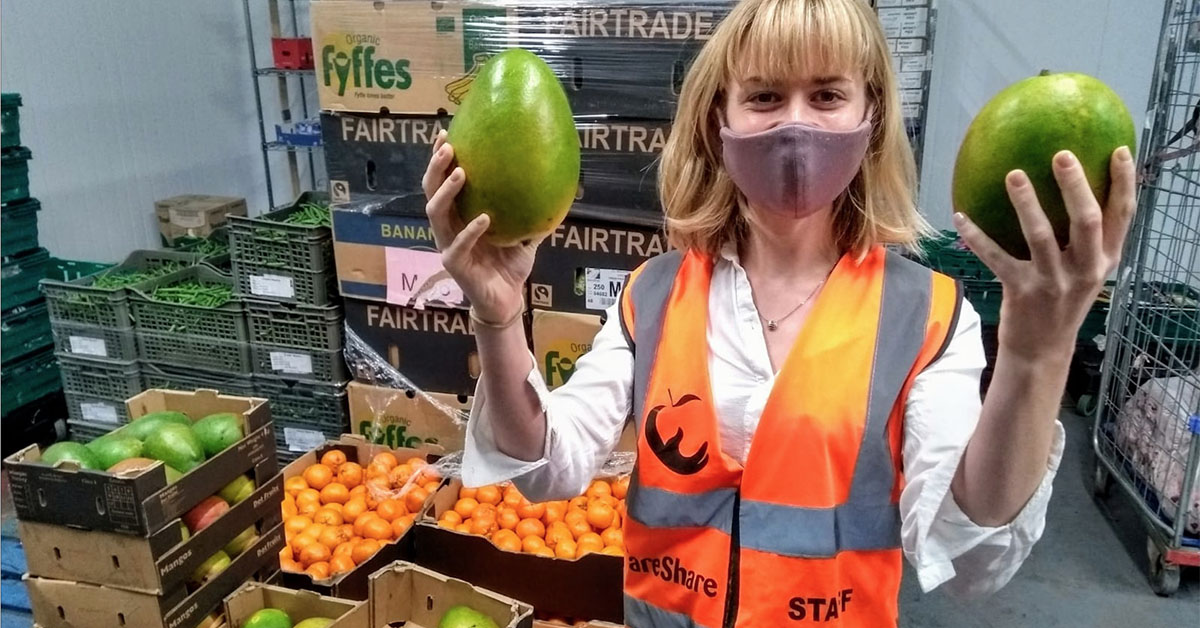 Lucy Bearn Head of Food and Logistics at FareShare South West